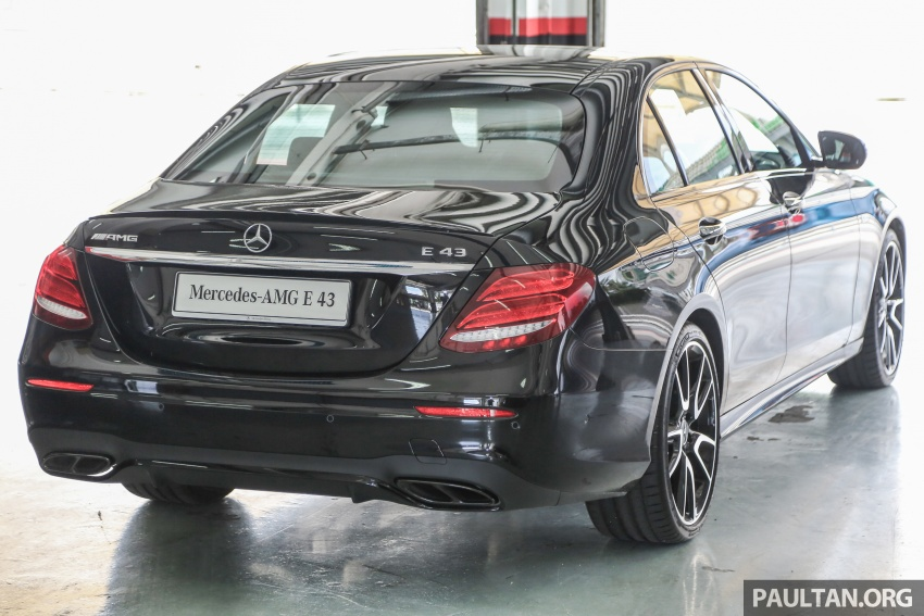 Mercedes-AMG E43 4Matic in Malaysia – RM658,888 Image #657124