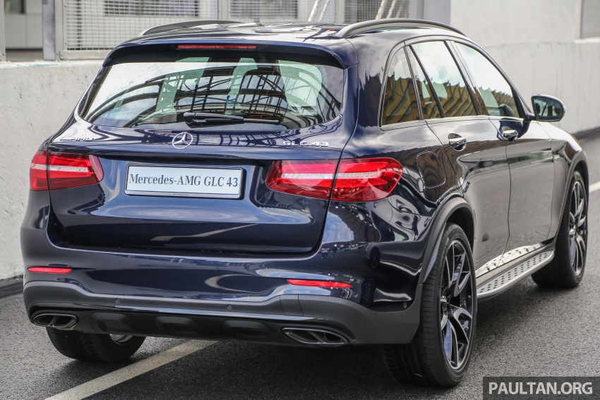 Mercedes-AMG GLC43 and GLC43 Coupe in Malaysia – 0-100 km/h in 4.9 seconds, RM539k and RM581k Image #657012
