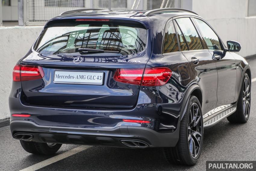 Mercedes-AMG GLC 43 4MATIC, GLC 43 4MATIC Coupe di M'sia – 3.0L biturbo V6, 362 hp, dari RM539k Image #656979