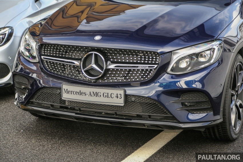 Mercedes-AMG GLC43 and GLC43 Coupe in Malaysia – 0-100 km/h in 4.9 seconds, RM539k and RM581k Image #657015