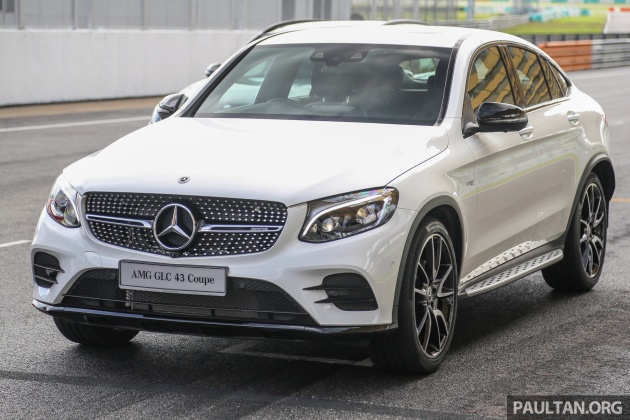 Mercedes Amg Glc43 And Glc43 Coupe In Malaysia 0 100 Km H In 4 9