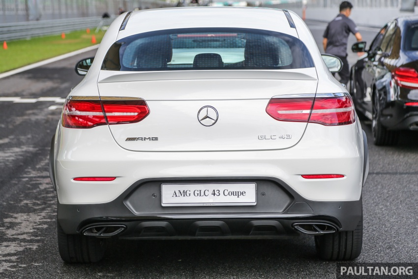 Mercedes-AMG GLC43 and GLC43 Coupe in Malaysia – 0-100 km/h in 4.9 seconds, RM539k and RM581k Image #657002