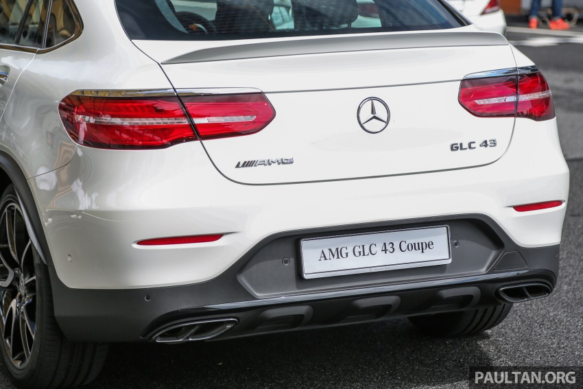 Mercedes-AMG GLC43 and GLC43 Coupe in Malaysia – 0-100 km/h in 4.9 seconds, RM539k and RM581k Image #657006