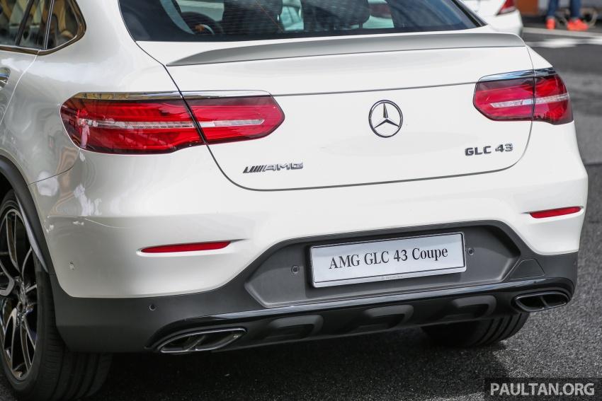 Mercedes-AMG GLC 43 4MATIC, GLC 43 4MATIC Coupe di M'sia – 3.0L biturbo V6, 362 hp, dari RM539k Image #656968