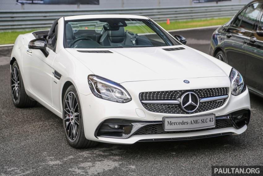 Mercedes-AMG SLC 43 tiba di Malaysia, harga RM571k Image #657028