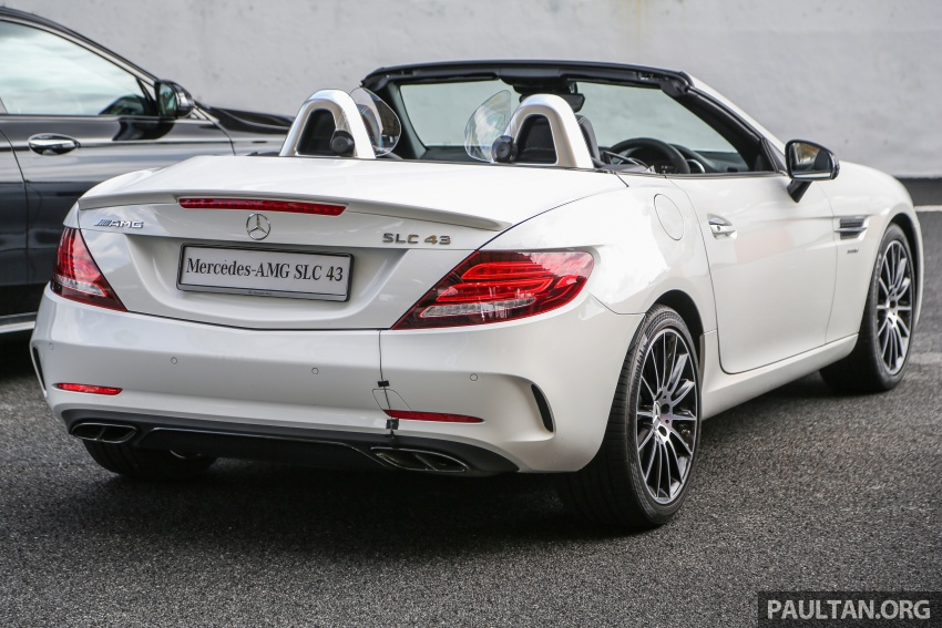 Mercedes-AMG SLC 43 tiba di Malaysia, harga RM571k Image #657029