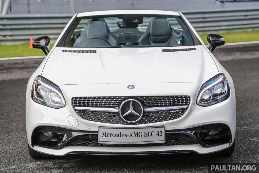 Mercedes-AMG SLC 43 tiba di Malaysia, harga RM571k Image #657030
