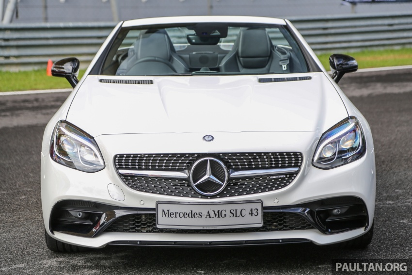 Mercedes-AMG SLC43 debuts in Malaysia – RM571k Image #656992