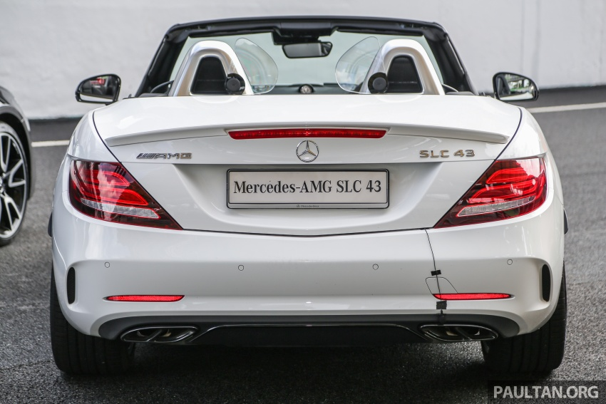 Mercedes-AMG SLC43 debuts in Malaysia – RM571k Image #656993