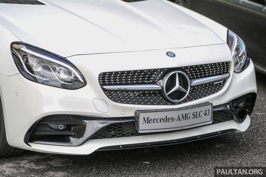 Mercedes-AMG SLC 43 tiba di Malaysia, harga RM571k Image #657023