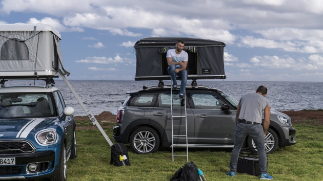 Special Autohome Two Man Tents For Mini Countryman