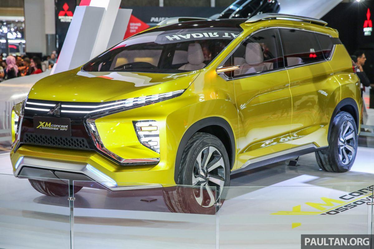 IIMS 2017 Mitsubishi XM Low MPV Coming This Year