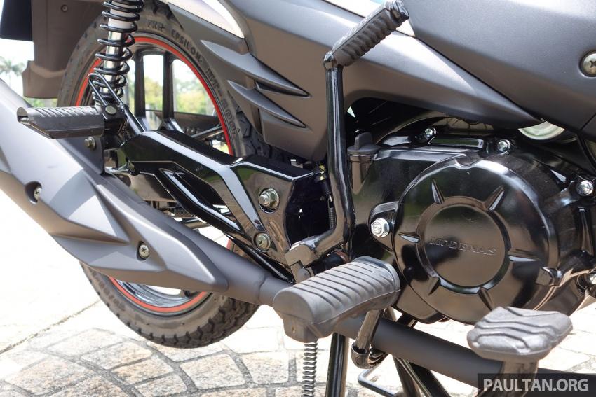 TUNGGANG UJI: Modenas Kriss MR2 110 – pilihan berbaloi untuk wang, tetapi prestasinya bagaimana? Image #656361