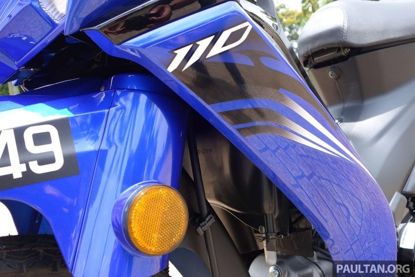TUNGGANG UJI: Modenas Kriss MR2 110 – pilihan berbaloi untuk wang, tetapi prestasinya bagaimana? Image #656366