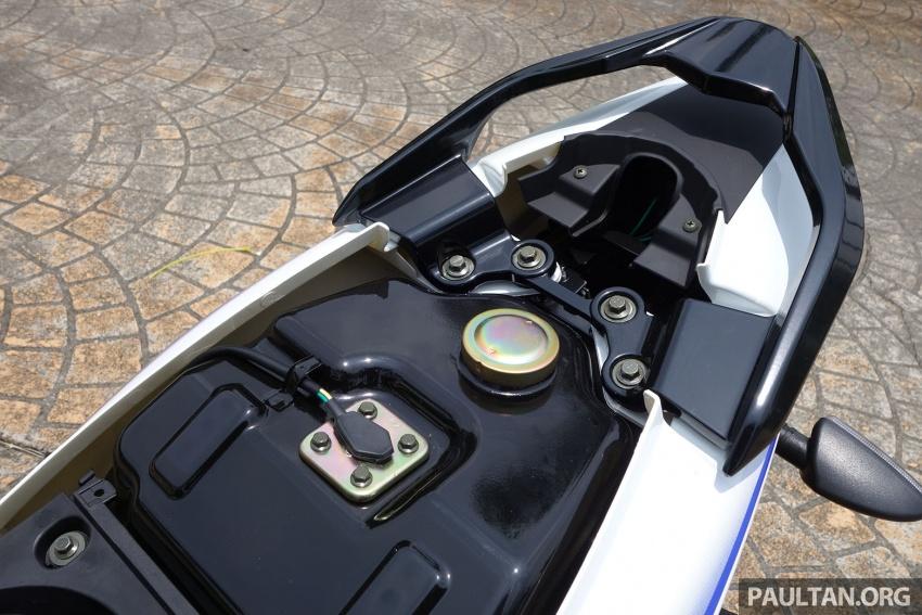 TUNGGANG UJI: Modenas Kriss MR2 110 – pilihan berbaloi untuk wang, tetapi prestasinya bagaimana? Image #656370