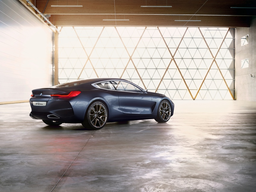 BMW Concept 8 Series shown – production in 2018 Image #664150
