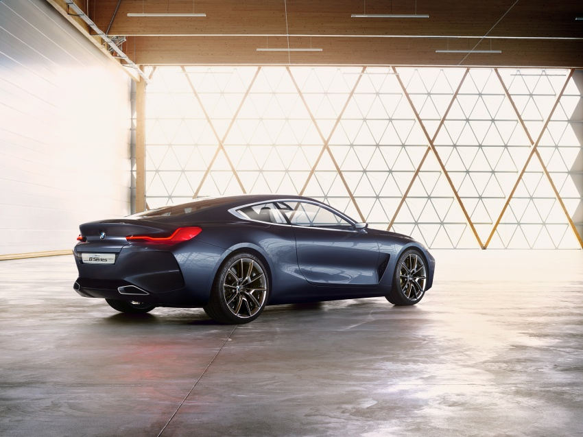 BMW Concept 8 Series shown – production in 2018 Image #664151