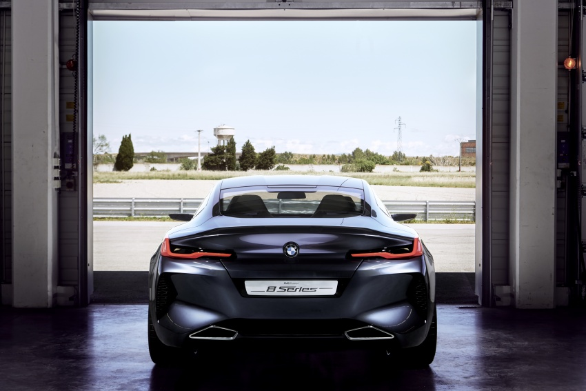 BMW Concept 8 Series shown – production in 2018 Image #664154