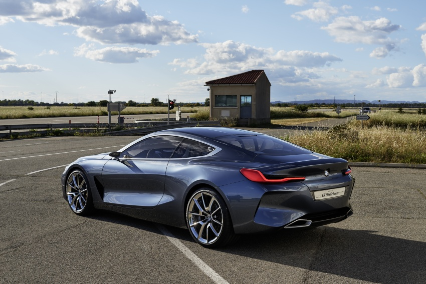 BMW Concept 8 Series shown – production in 2018 Image #664155