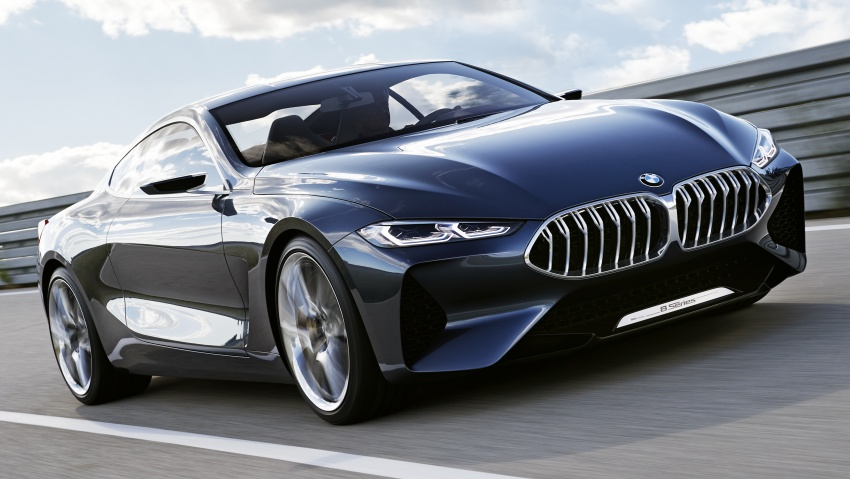 BMW Concept 8 Series shown – production in 2018 Image #664156