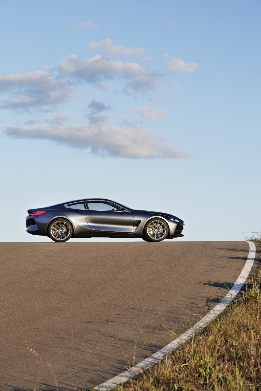 BMW Concept 8 Series shown – production in 2018 Image #664157