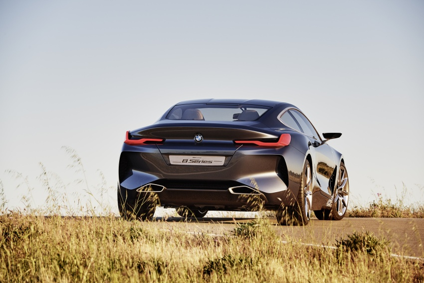 BMW Concept 8 Series shown – production in 2018 Image #664158