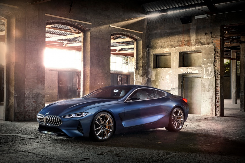 BMW Concept 8 Series shown – production in 2018 Image #664160