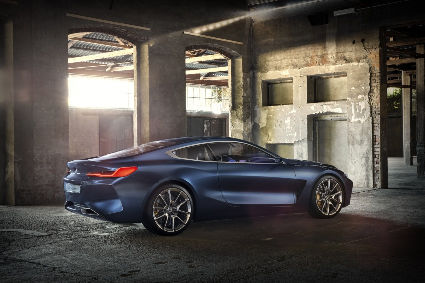 BMW Concept 8 Series shown – production in 2018 Image #664161