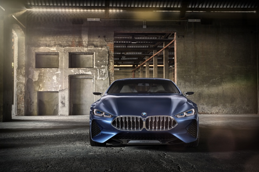 BMW Concept 8 Series shown – production in 2018 Image #664162