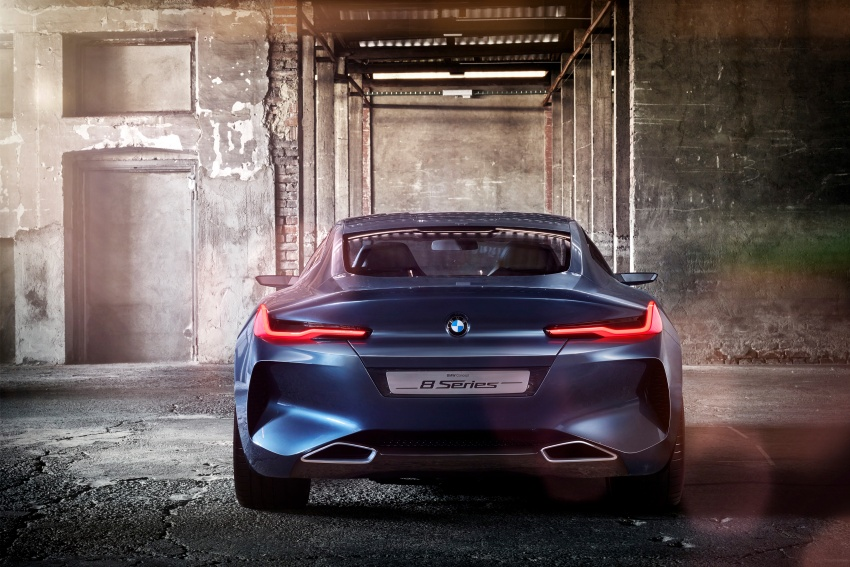 BMW Concept 8 Series shown – production in 2018 Image #664163