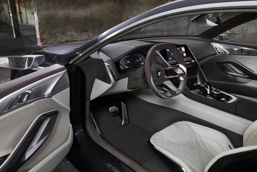 BMW Concept 8 Series shown – production in 2018 Image #664165