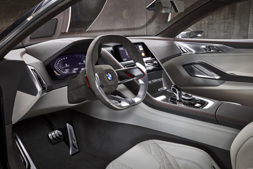 BMW Concept 8 Series shown – production in 2018 Image #664166