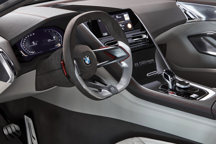 BMW Concept 8 Series shown – production in 2018 Image #664171