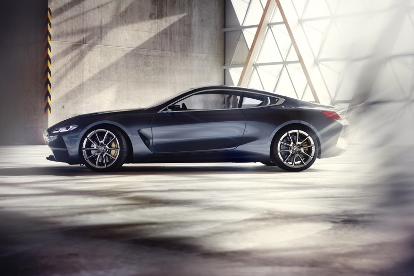 BMW Concept 8 Series shown – production in 2018 Image #664182