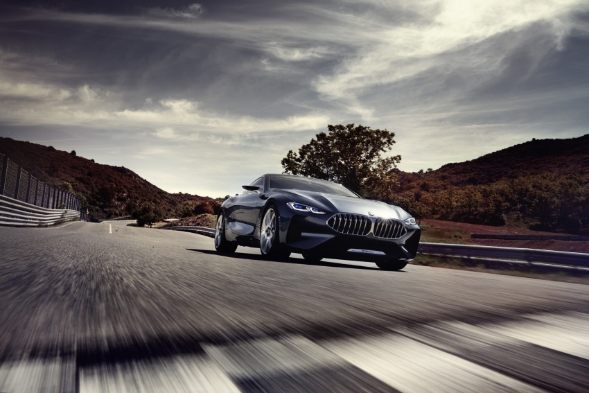 BMW Concept 8 Series shown – production in 2018 Image #664184