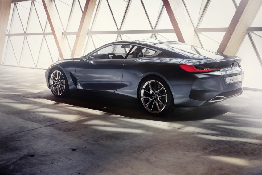 BMW Concept 8 Series shown – production in 2018 Image #664188