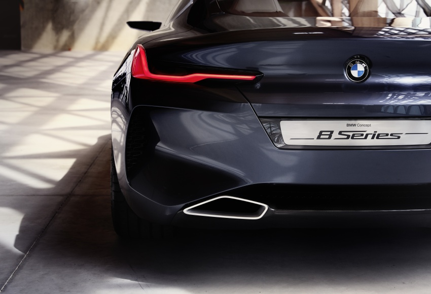 BMW Concept 8 Series shown – production in 2018 Image #664202