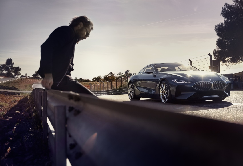BMW Concept 8 Series shown – production in 2018 Image #664205