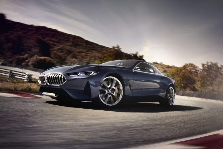 BMW Concept 8 Series shown – production in 2018 Image #664206
