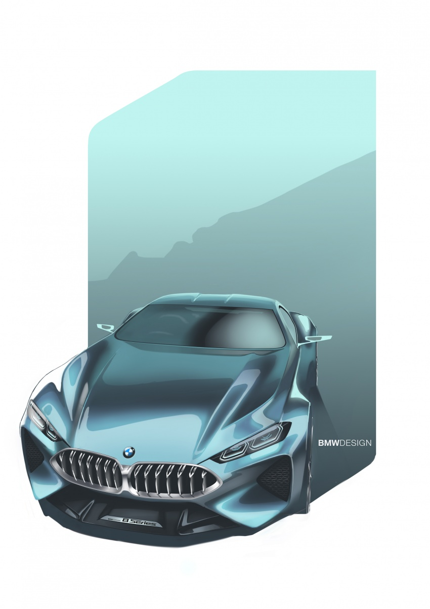 BMW Concept 8 Series shown – production in 2018 Image #664207