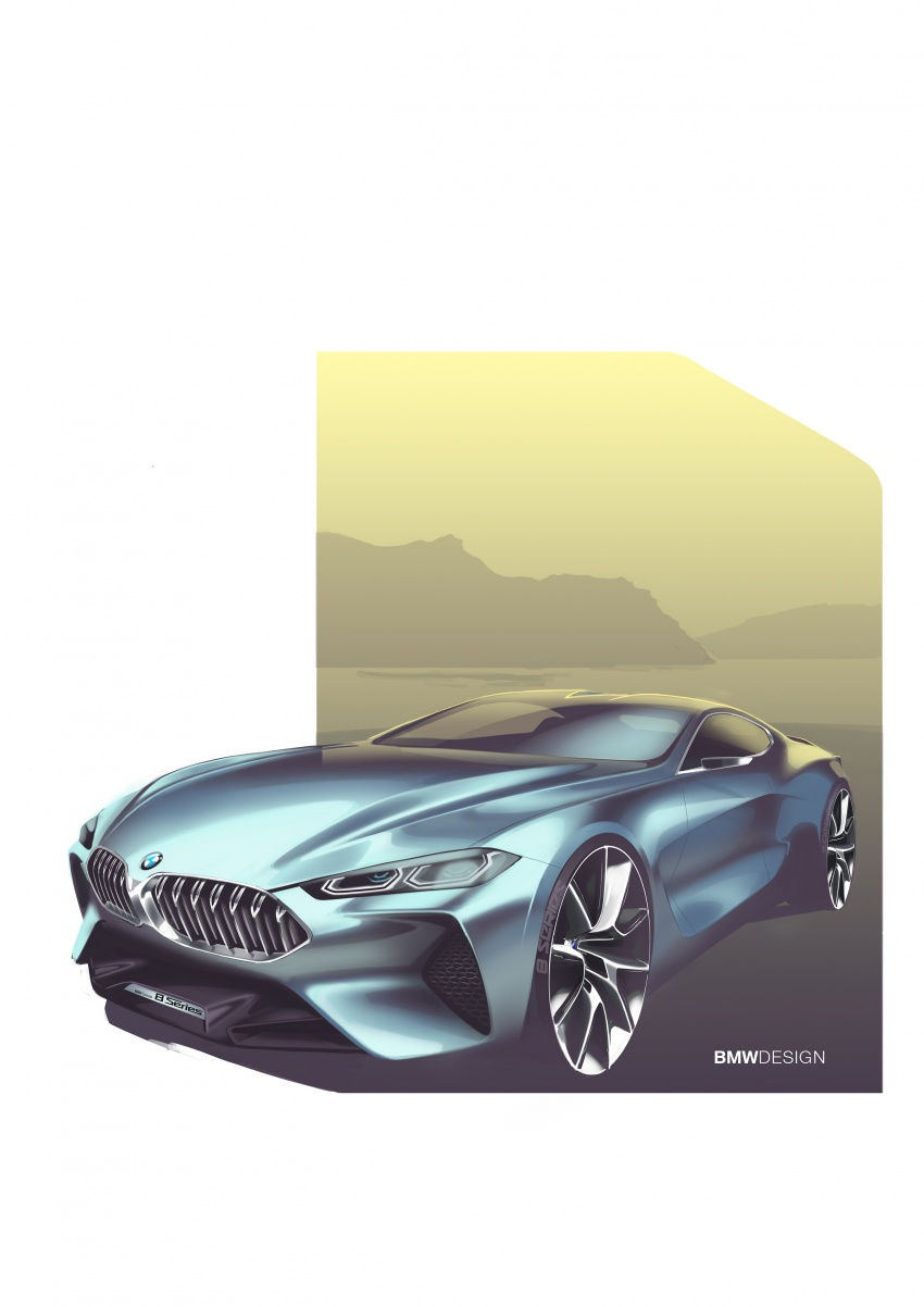 BMW Concept 8 Series shown – production in 2018 Image #664208