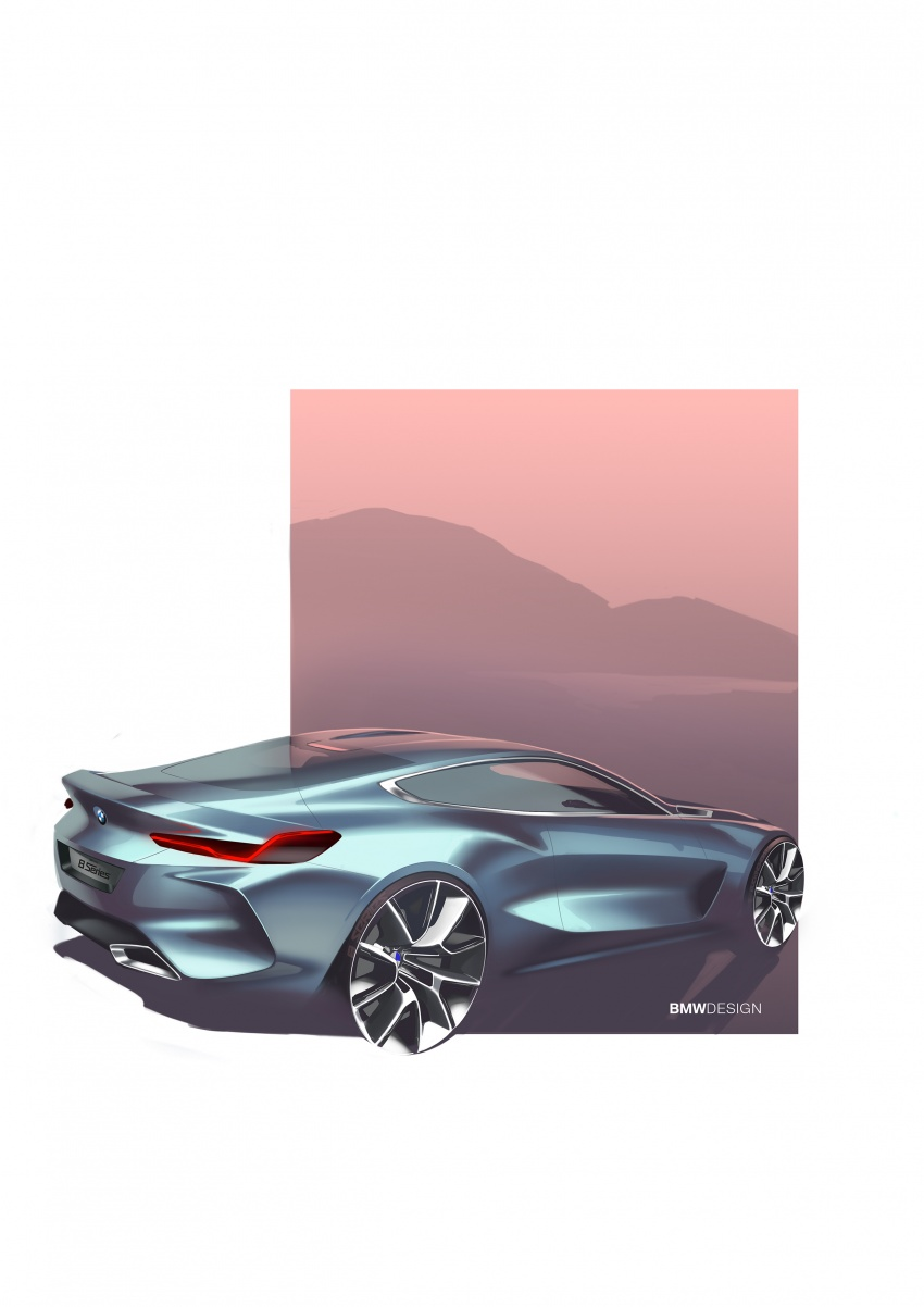 BMW Concept 8 Series shown – production in 2018 Image #664210