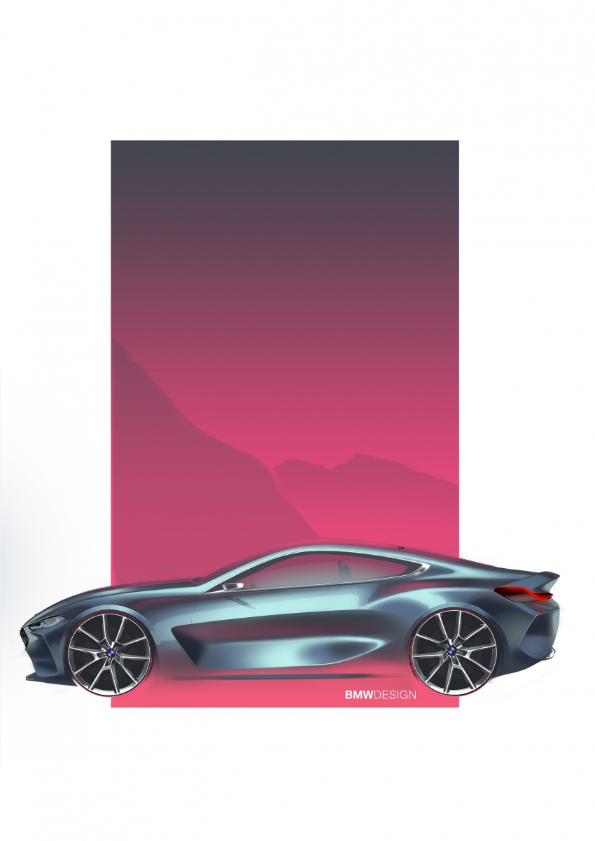 BMW Concept 8 Series shown – production in 2018 Image #664211