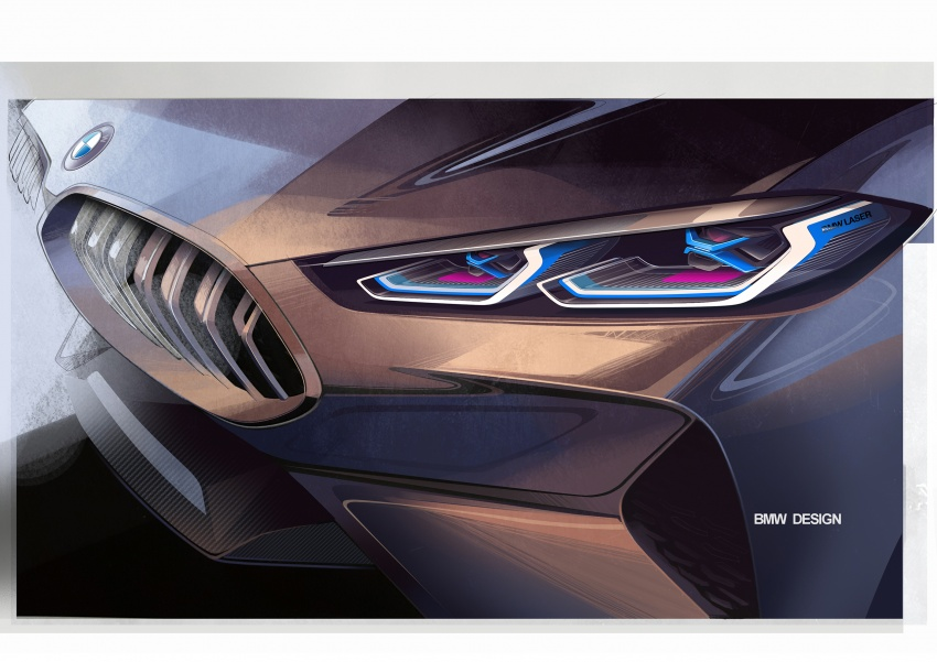 BMW Concept 8 Series shown – production in 2018 Image #664220