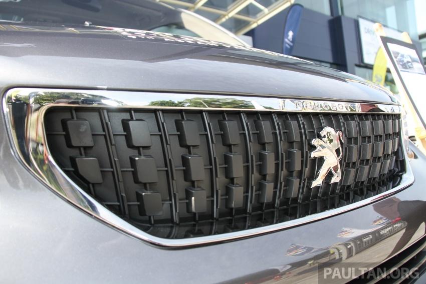 GALERI: Peugeot Traveller tampil di pusat pameran – model Standard enjin 2.0L diesel, lapan tempat duduk Image #663713