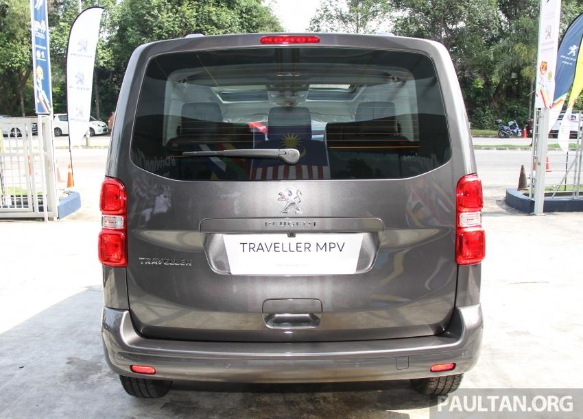 GALERI: Peugeot Traveller tampil di pusat pameran – model Standard enjin 2.0L diesel, lapan tempat duduk Image #663704