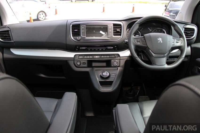 GALERI: Peugeot Traveller tampil di pusat pameran – model Standard enjin 2.0L diesel, lapan tempat duduk Image #663747