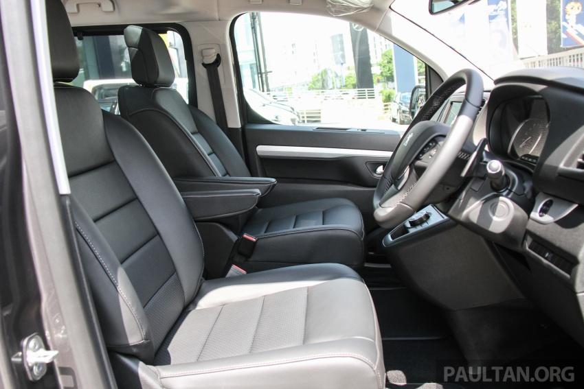 GALERI: Peugeot Traveller tampil di pusat pameran – model Standard enjin 2.0L diesel, lapan tempat duduk Image #663757