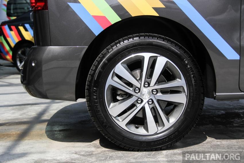 GALERI: Peugeot Traveller tampil di pusat pameran – model Standard enjin 2.0L diesel, lapan tempat duduk Image #663708