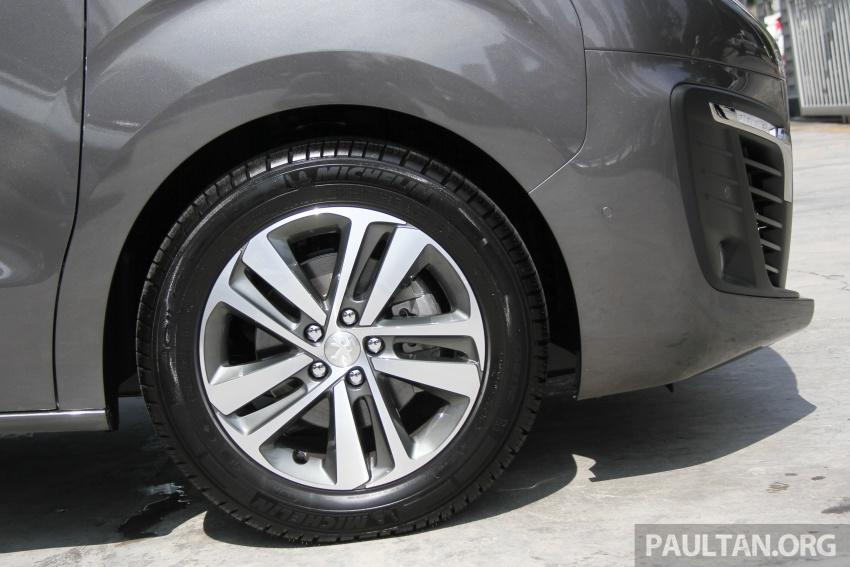GALERI: Peugeot Traveller tampil di pusat pameran – model Standard enjin 2.0L diesel, lapan tempat duduk Image #663711